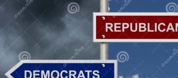 Partidul Democrat si Partidul Republican