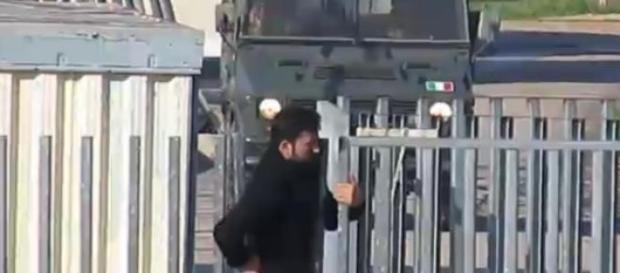 Un estratto del video diffuso dall'Espresso