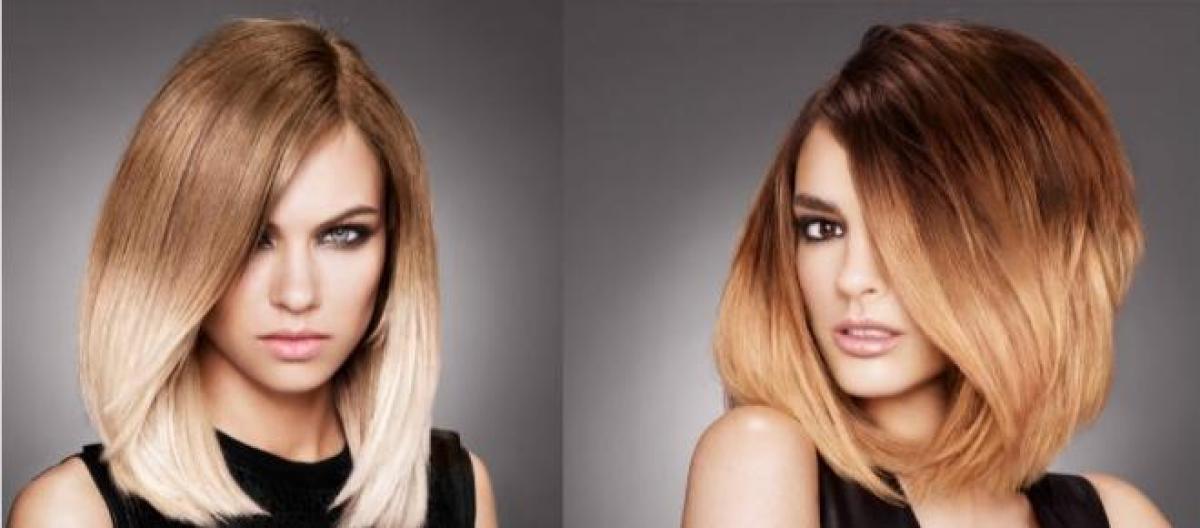 Tagli capelli 2015 lunghi e medi effetto spettinato, colori, shatush, long  bob e swag