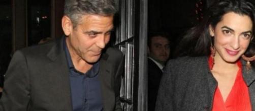 George e Amal in una delle tante foto insieme