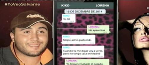 Las pruebas de Kiko Rivera estuvo con Lorena