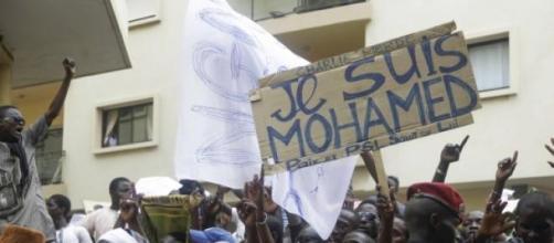 Manifestação no Senegal contra Charlie Hebdo