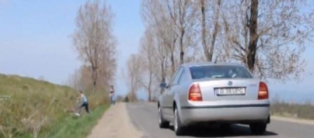 Locul in care masinile urca singure la deal