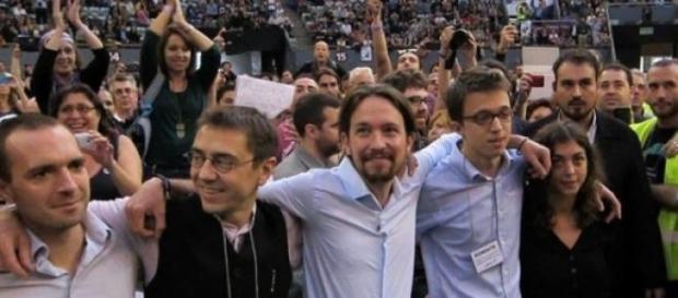 Pablo Iglesias visitó el plató de 'La Sexta Noche'