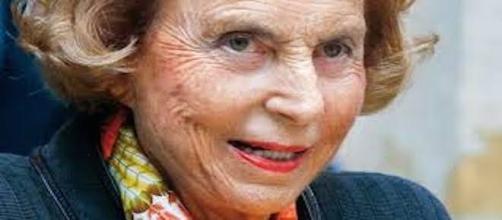 Liliane Bettencourt, héritière de L'Oréal.