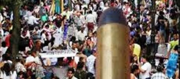 A população tem sido atingida por balas perdidas