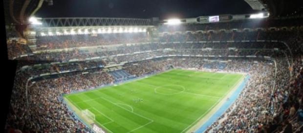 Estadio Santiago Bernabeu en imagen de archivo