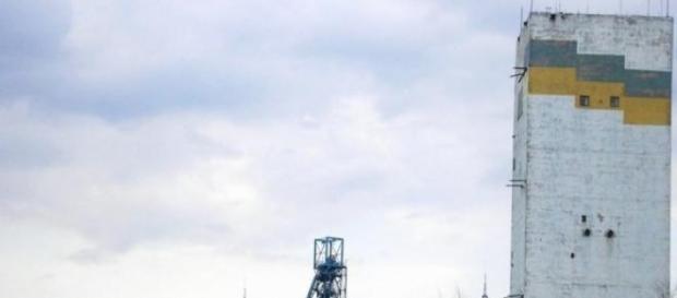 La mine de charbon de Zasyadko.