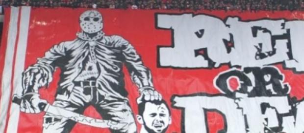 O cartaz que chocou a Bélgica