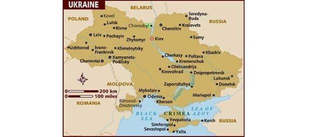Ukraine. Donetsk, Luhansk, Mariupol in south-east