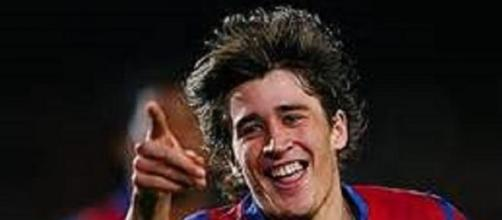 Bojan opened the scoring but limped off later on