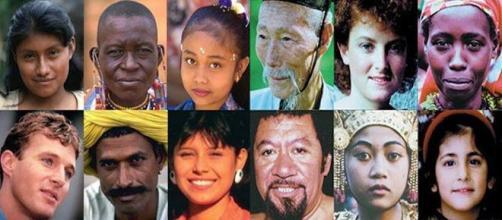 La evolución del color de la piel humana.