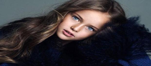 Kristina Pimenova-cea mai frumoasa fetita din lume