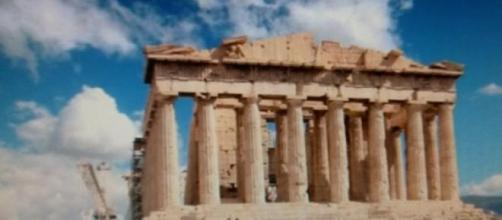 L'Acropole  à Athènes (Grèce).