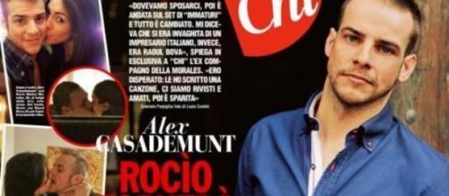 L'ex di Rocio mette in guardia Raoul Bova.