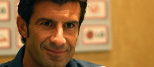 Luís Figo venceu a Bola de Ouro em 2000.
