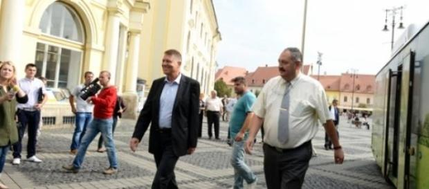 Klaus Iohannis si Cristian Gheorghe Pavel
