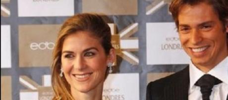 Carlos Baute y su esposa Astrid