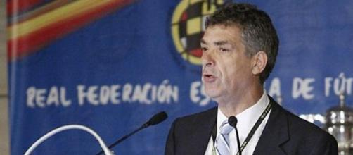 Angel María Villar, presidente de la RFEF