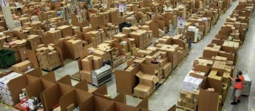 I grandi depositi di Amazon