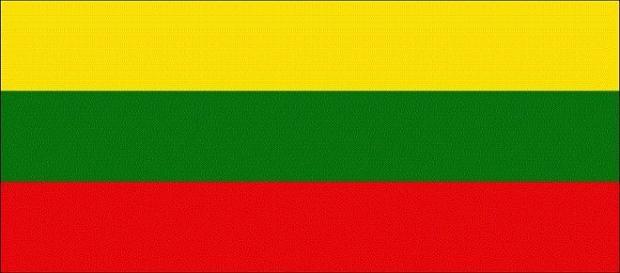 A bandeira da Lituânia, um país livre desde 1990