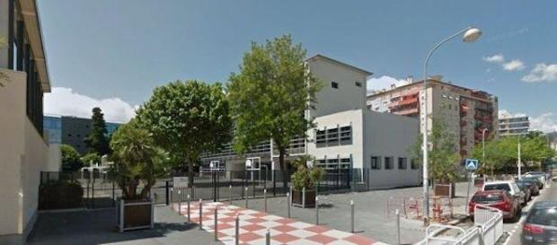 L'école primaire Flore de Nice du jeune garçon.
