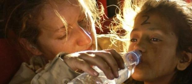 O ser humano precisa de água para sobreviver