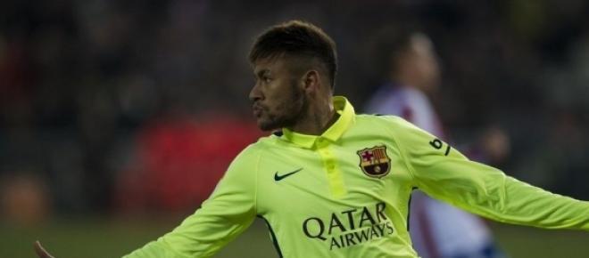 Neymar ha sido uno de los protagonistas del partido.