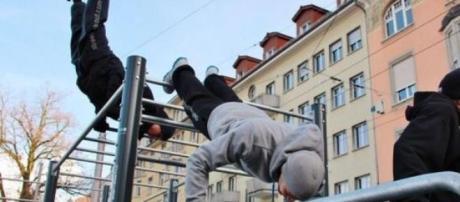 Exemplo de um treino de Street Workout