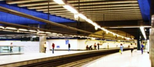 Fotografía de la linea 3 del metro de Madrid