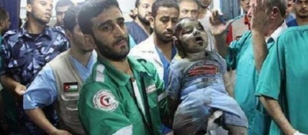 Crime de guerre commis à Palestine