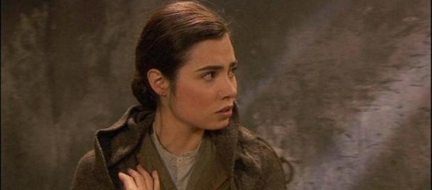 Maria va in carcere da Gonzalo.