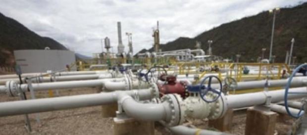 Pozo gasífero en el Departamento de Sucre-Bolivia