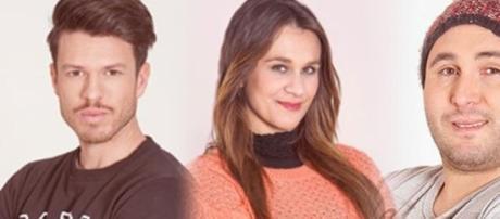 Los nominados: Fede, Laura y Kiko