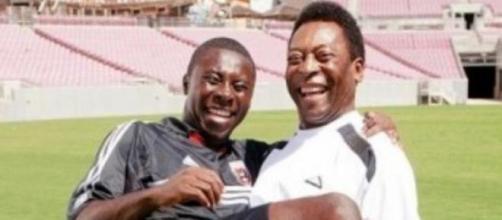 Adu e Pelé chegaram a ser comparados