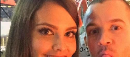 foto de la pareja publicada en las redes sociales