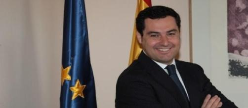 Juan Manuel Moreno Bonilla, candidato PP andaluz.