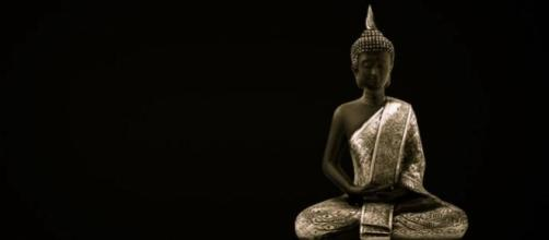 The Buddha doing a bit of Mindfulness