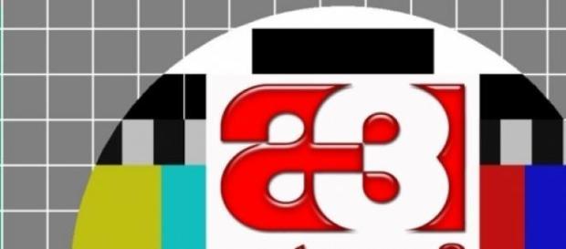 El primero de los logos de Antena 3 Televisión