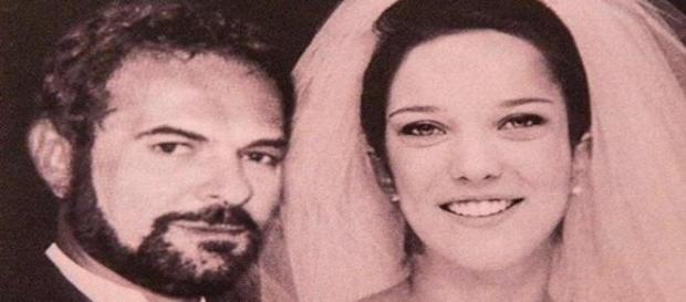 Foto do casamento roubada (Foto: Reprodução)