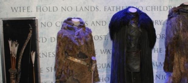 Guarda-roupa da série em exposição em Oslo