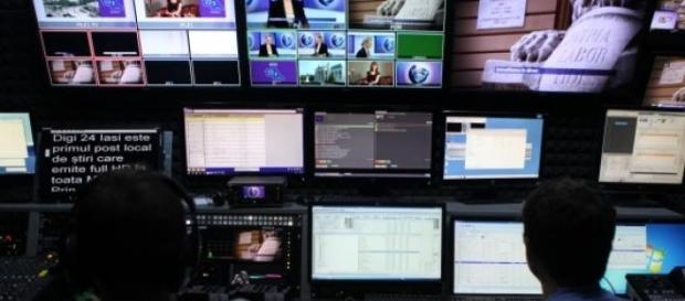 Post de televiziune atacat de un tanar