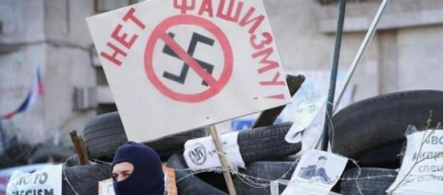 Pro rus: Nu fascismului, Donetsk