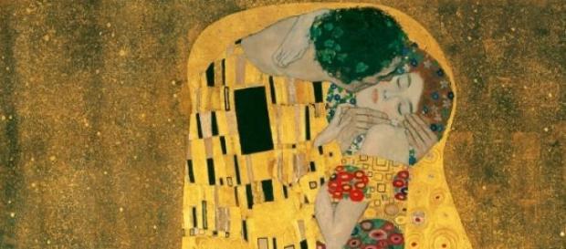"""O Beijo"", de Gustav Klimt"