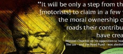 Churchill opina de una Ley polémica de su tiempo.