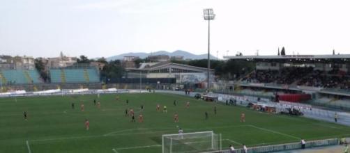 Grosseto-Carrarese, calcio Lega Pro 2015