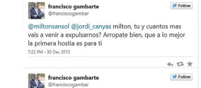 Algunos comentarios de Francisco Gambarte