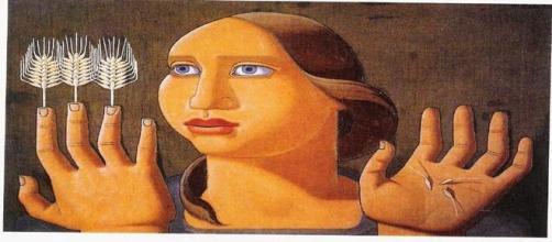Maruja Mallo: 'La sorpresa del trigo'