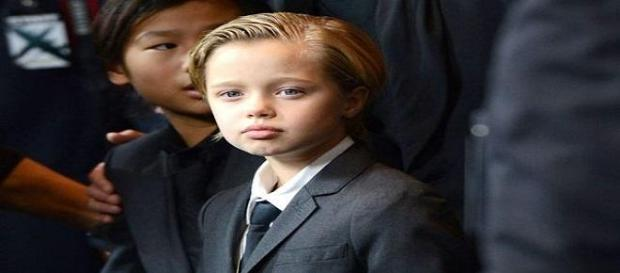 Shiloh Jolie Pitt se viste con ropa masculina