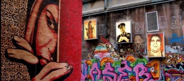 Street art w Melbourne, Shepard Fairey